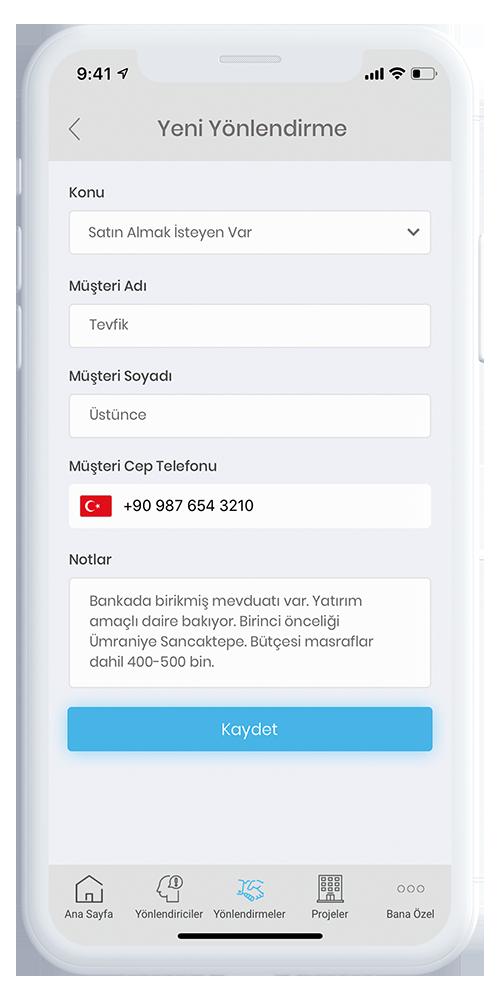 Mobil Broker Yeni Yönlendirme Ekranı